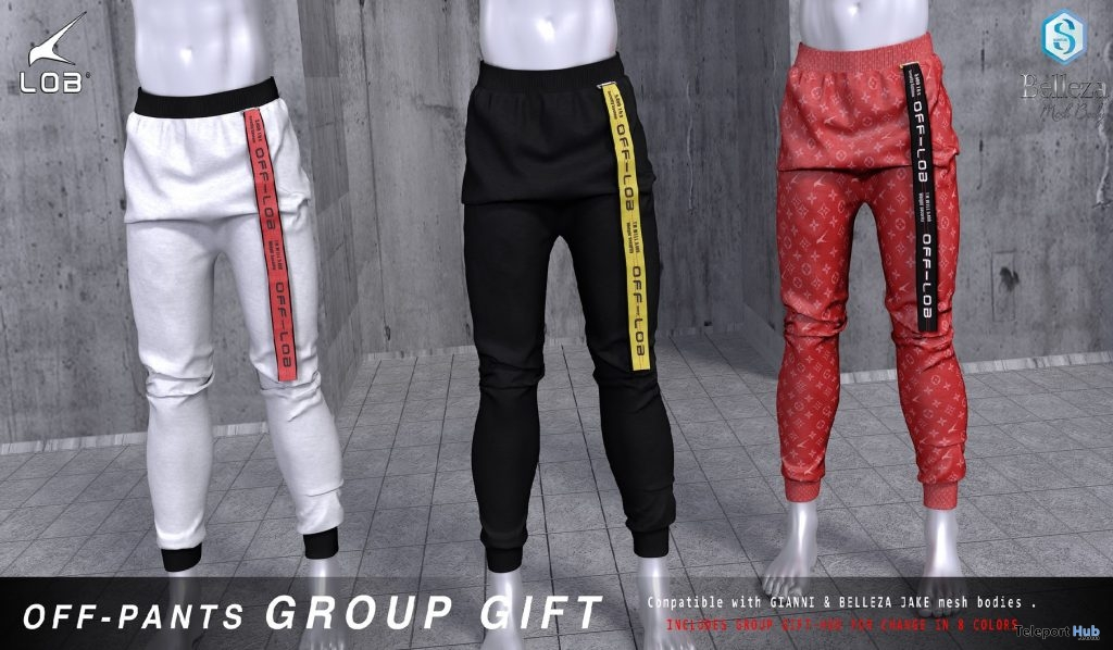 Off-Pants April 2019 Group Gift by LOB - Teleport Hub - teleporthub.com