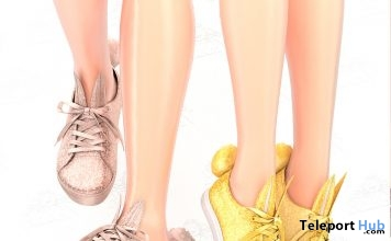 Glitter Lola Bunny Sneakers April 2019 Group Gift by REIGN - Teleport Hub - teleporthub.com