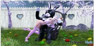 Easter Spanking Couple Pose April 2019 Group Gift by Something New- Teleport Hub - teleporthub.com