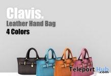 Leather Hand Bag April 2019 Gift by Clavis- Teleport Hub - teleporthub.com