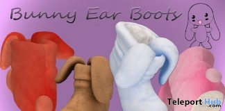 Bunny Ear Boots April 2019 Group Gift by in.SANITY Designs- Teleport Hub - teleporthub.com
