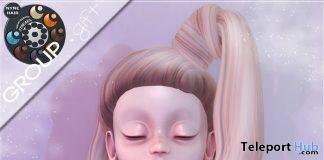 Alba Hair April 2019 Group Gift by NYNE- Teleport Hub - teleporthub.com