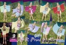 Kimono Bento Pose Pack April 2019 Gift by A&R Haven - Teleport Hub - teleporthub.com