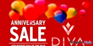 Virtual Diva Couture 75% off Anniversary Sale Event 2019 - Teleport Hub - teleporthub.com