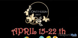 Continuum Fashion Easter 2019 50% Off Sale Event  - Teleport Hub - teleporthub.com