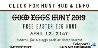 Good Eggs Hunt 2019 - Teleport Hub - teleporthub.com