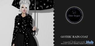 Gothic RainCoat April 2019 Group Gift by Star Sugar- Teleport Hub - teleporthub.com