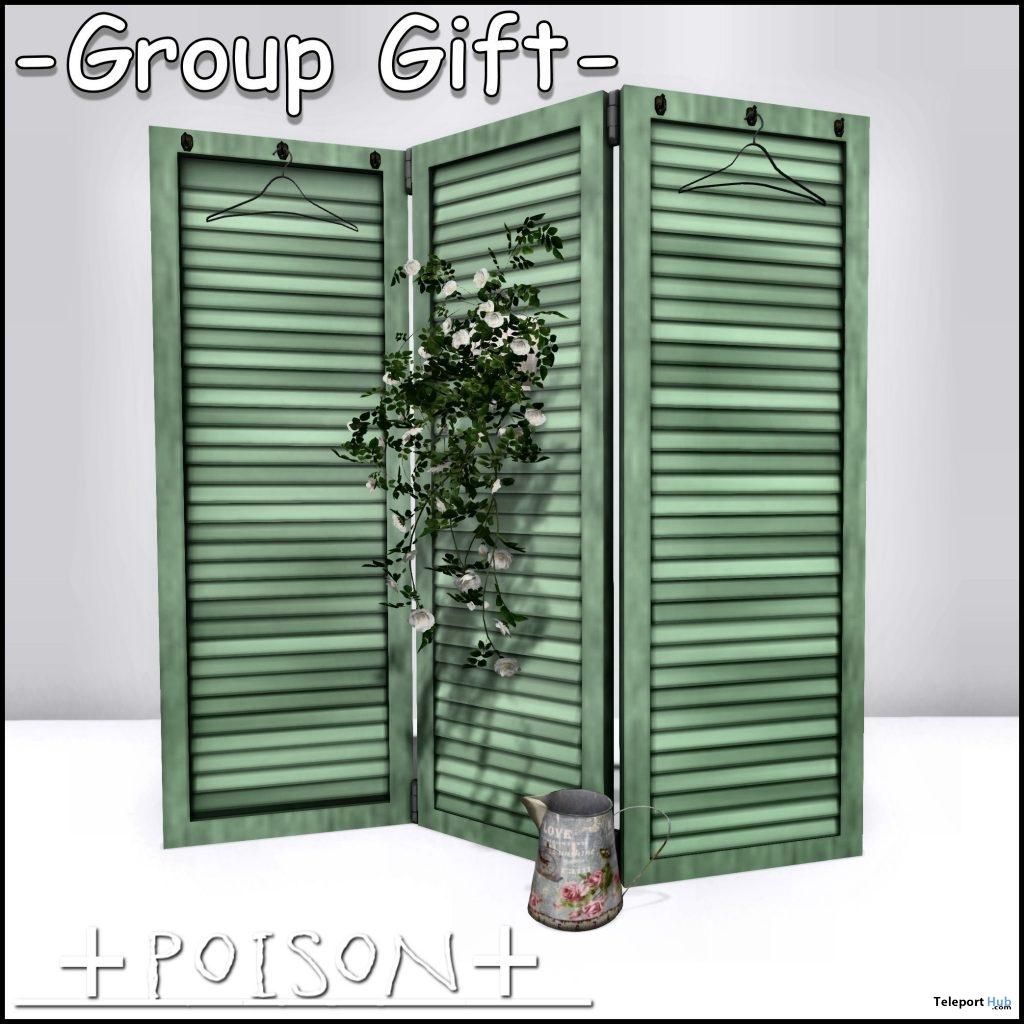 Room Divider April 2019 Group Gift by +Poison+- Teleport Hub - teleporthub.com