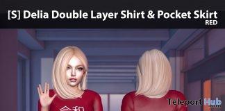 New Release: [S] Delia Double Layer Shirt & Pocket Skirt by [satus Inc]- Teleport Hub - teleporthub.com