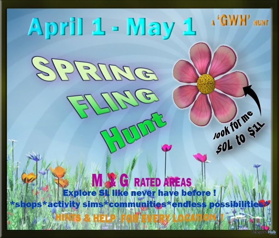 GWH Spring Fling Hunt 2019- Teleport Hub - teleporthub.com
