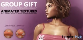Jule Animated-Bunnies Top Easter 2019 Group Gift by HEC - Teleport Hub - teleporthub.com
