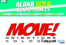 New Release: Alana Vol 4 Bento Dance Pack by MOVE! Animations Cologne - Teleport Hub - teleporthub.com