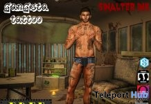 Gangsta Tattoo 1L Promo by SinAlter - Teleport Hub - teleporthub.com
