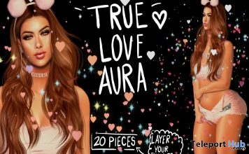 True Love Pastel Heart Particles 1L Promo Gift by Cinnamon Cocaine - Teleport Hub - teleporthub.com
