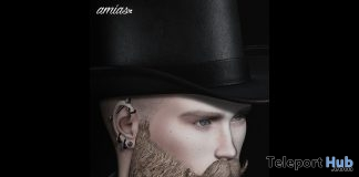 Hat Brown & Black April 2019 Group Gift by amias - Teleport Hub - teleporthub.com