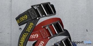 Knee Belt Gift by GABRIEL @ Men Only Monthly April 2019- Teleport Hub - teleporthub.com