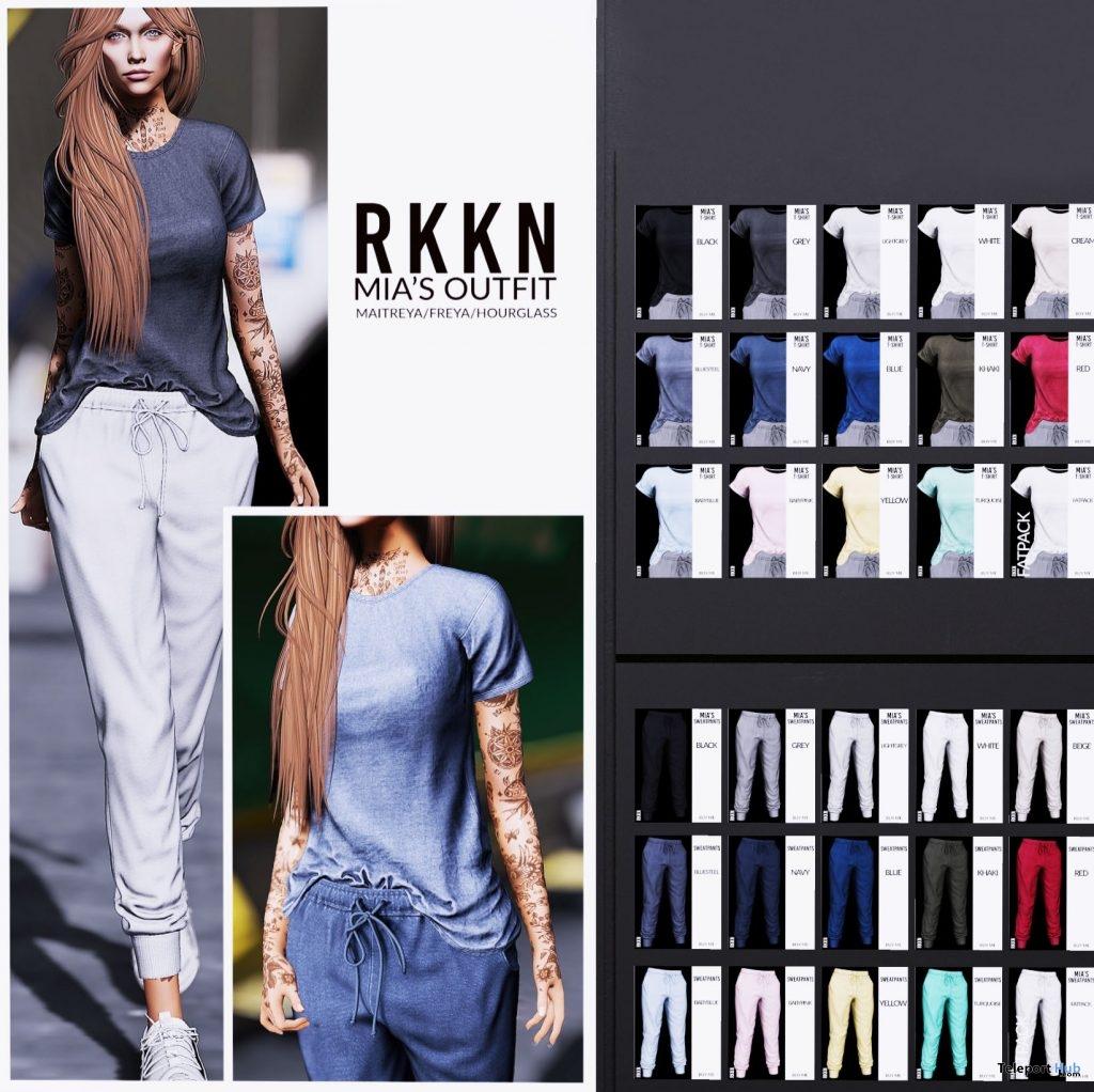 New Release: Mia's Outfit by RKKN @ Shiny Shabby April 2019- Teleport Hub - teleporthub.com