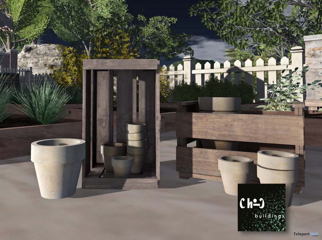 Garden Potting With Crates 50L Promo by ChiC buildings - Teleport Hub - teleporthub.com