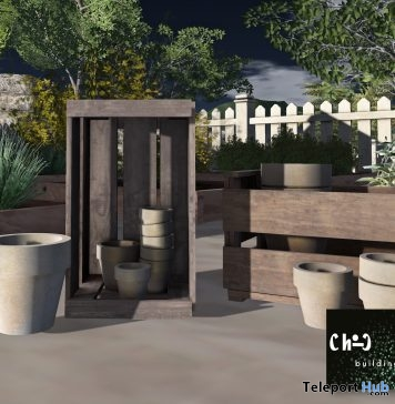 Garden Potting With Crates 50L Promo by ChiC buildings- Teleport Hub - teleporthub.com
