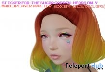 Colored Star TSG Sticker Applier April 2019 Group Gift by !Orhpic! - Teleport Hub - teleporthub.com