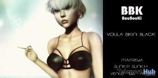 Voula Bikini Black June 2019 Group Gift by BouBouKi - Teleport Hub - teleporthub.com