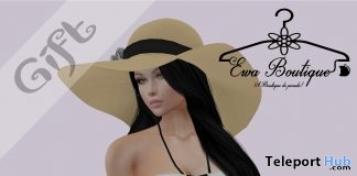 White Swimsuit May 2019 Group Gift by Ewa Boutique- Teleport Hub - teleporthub.com