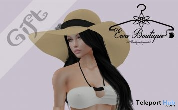 White Swimsuit May 2019 Group Gift by Ewa Boutique - Teleport Hub - teleporthub.com