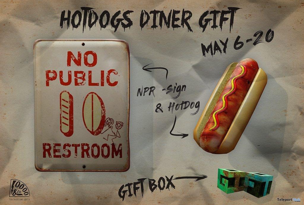 Hotdog Gift by Ten Thousands & Co. @ 6 Republic Event May 2019- Teleport Hub - teleporthub.com