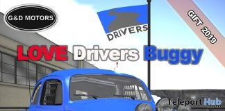 Love Drivers Buggy May 2019 Group Gift by G&D MOTORS- Teleport Hub - teleporthub.com