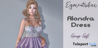 Alondra Dress May 2019 Group Gift by Egoxentrikax - Teleport Hub - teleporthub.com