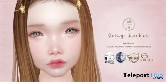 Gerry Lashes Appliers May 2019 Group Gift by C'est la vie!- Teleport Hub - teleporthub.com