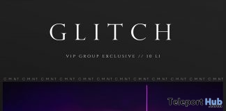 Glitch Backdrop May 2019 Group Gift by FOXCITY- Teleport Hub - teleporthub.com