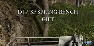 Spring Bench May 2019 Group Gift by Shutter Field- Teleport Hub - teleporthub.com