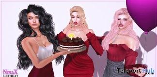 Birthday Bento Pose & Prop May 2019 Group Gift by NinaX- Teleport Hub - teleporthub.com