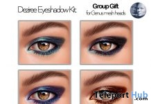 Deziree Eyeshadows May 2019 Group Gift by [theSkinnery] - Teleport Hub - teleporthub.com