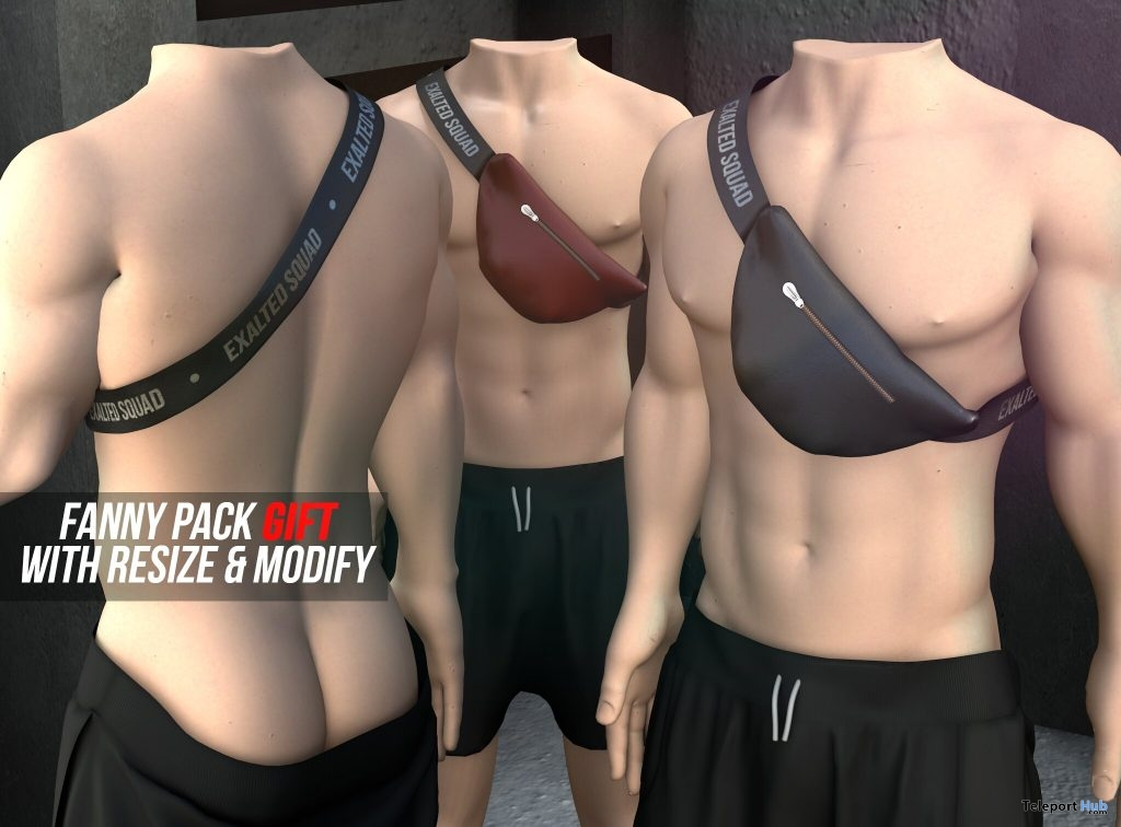 Fanny Pack May 2019 Group Gift by ExalteD- Teleport Hub - teleporthub.com