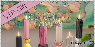 Claudette's Candles May 2019 Group Gift by Dilly Dolls - Teleport Hub - teleporthub.com