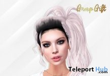 Lisa Hair With Style HUD May 2019 Group Gift by Phoenix Hair - Teleport Hub - teleporthub.com