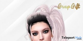 Lisa Hair With Style HUD May 2019 Group Gift by Phoenix Hair- Teleport Hub - teleporthub.com