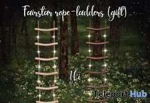 Fairstar Rope-ladder Gift by Raindale @ We Love RolePlay May 2019 - Teleport Hub - teleporthub.com