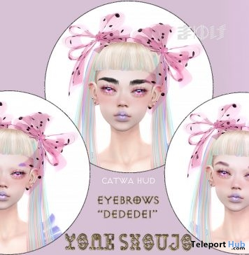 Eyebrows Dedede1 May 2019 Gift by YOME SHOUJO - Teleport Hub - teleporthub.com