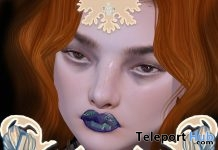 Amanita Lipstick For Genus Mesh Head May 2019 Group Gift by La Malvada Mujer - Teleport Hub - teleporthub.com