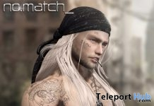 No Freeze Male Hair May 2019 Group Gift by No Match - Teleport Hub - teleporthub.com