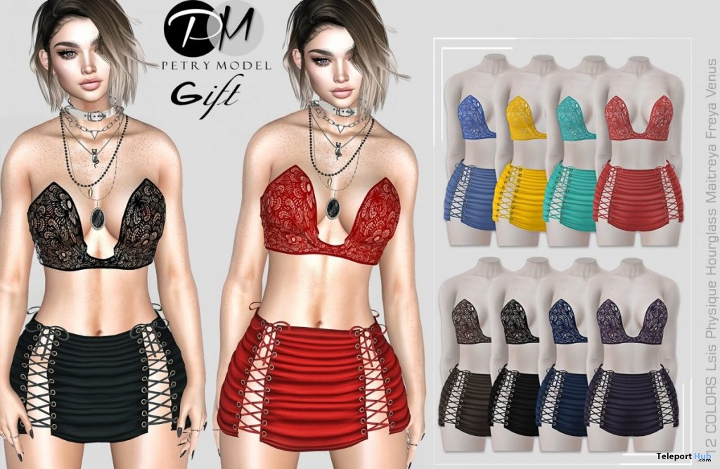 Outfit SGHE Fatpack 1L Promo Gift by Petry Model - Teleport Hub - teleporthub.com
