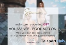 Aquasense Pool Add On Kit May 2019 Gift by Salt & Pepper - Teleport Hub - teleporthub.com