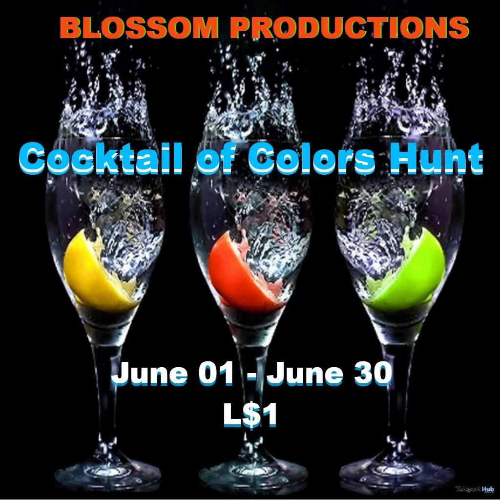 Cocktail of Colors Hunt 2019- Teleport Hub - teleporthub.com