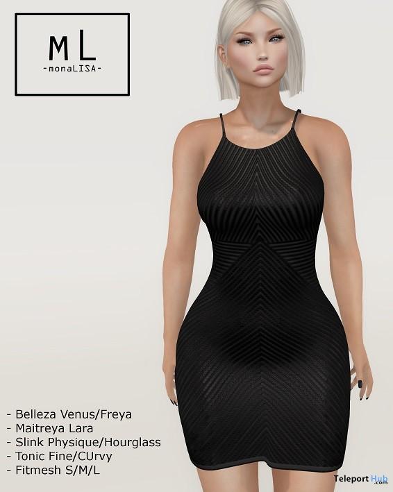 Inna Dress May 2019 Group Gift by monaLISA- Teleport Hub - teleporthub.com