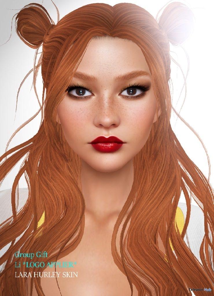 Li Midtone Skin Applier For LOGO Mesh Heads Group Gift by Lara Hurley Skin- Teleport Hub - teleporthub.com