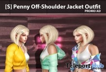 New Release: [S] Penny Off-Shoulder Jacket Outfit by [satus Inc] - Teleport Hub - teleporthub.com