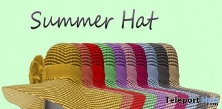 Summer Hat Fatpack May 2019 Group Gift by in.SANITY Designs- Teleport Hub - teleporthub.com